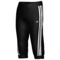 Adidas YG Ess 3/4 Kn P BLACK/WHITE