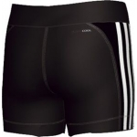 Kraťasy Adidas YG C C SH TIGHT BLACK/WHITE