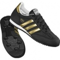Obuv Adidas DRAGON J LACE BLACK1/METGO